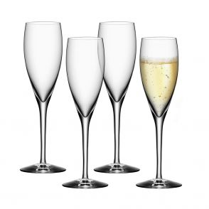 Orrefors champagneglas More 4 st