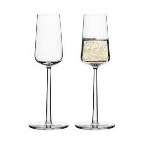 Plantera 6 st träd & få 2 st Iittala Essence champagneglas