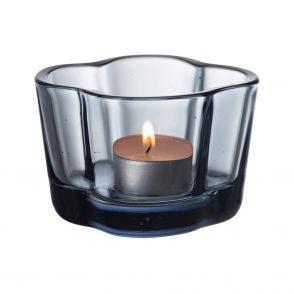 Iittala Aalto ljuslykta i återvunnet glas