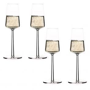 Iittala Essence champagneglas 4-pack
