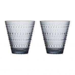 Iittala Kastehelmi glas i återvunnet glas, 2 st