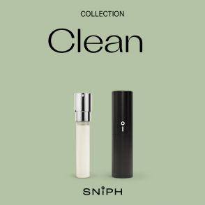 Sniph parfymprenumeration 1 månad: Clean
