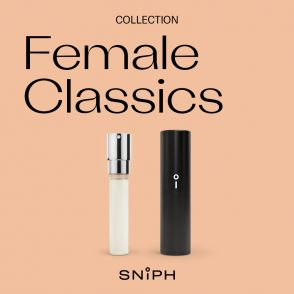 Sniph parfymprenumeration 1 månad: Female Classics