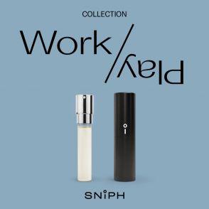 Sniph parfymprenumeration 1 månad: Work/Play