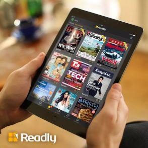 Readly - läs 4000 tidningar 1 månad