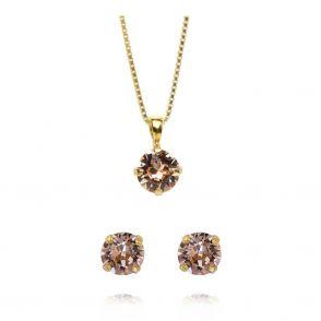 Caroline Svedbom Classic Stud smyckesset vintage rose gold